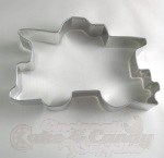 Train - Caboose Cookie Cutter