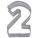 "Number ""2"" Cookie Cutter THUMBNAIL"