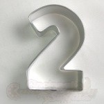 "Number ""2"" Cookie Cutter"