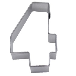 "Number ""4"" Cookie Cutter LARGE"