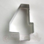 "Number ""4"" Cookie Cutter_THUMBNAIL"