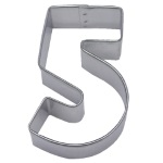 "Number ""5"" Cookie Cutter THUMBNAIL"