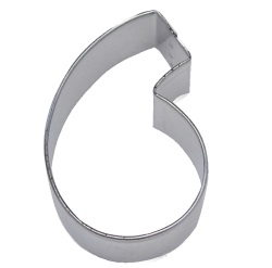 "Number ""6"" or ""9"" Cookie Cutter LARGE"