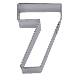 "Number ""7"" Cookie Cutter LARGE"