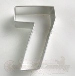 "Number ""7"" Cookie Cutter"