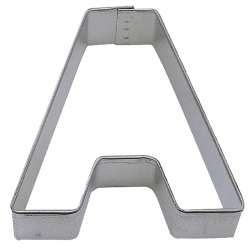 "Letter ""A"" Cookie Cutter LARGE"