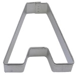 "Letter ""A"" Cookie Cutter THUMBNAIL"