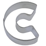 "Letter ""C"" Cookie Cutter THUMBNAIL"