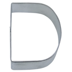 "Letter ""D"" Cookie Cutter LARGE"