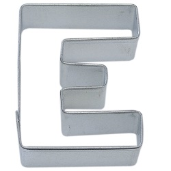 "Letter ""E"" Cookie Cutter LARGE"