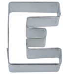 "Letter ""E"" Cookie Cutter THUMBNAIL"