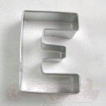 "Letter ""E"" Cookie Cutter"