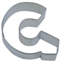 "Letter ""G"" Cookie Cutter LARGE"