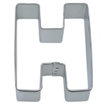 "Letter ""H"" Cookie Cutter THUMBNAIL"