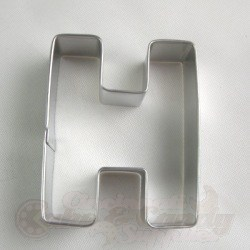 "Letter ""H"" Cookie Cutter"