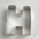 "Letter ""H"" Cookie Cutter_THUMBNAIL"