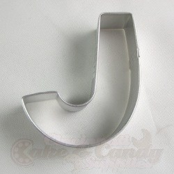 "Letter ""J"" Cookie Cutter"