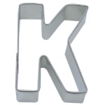 "Letter ""K"" Cookie Cutter THUMBNAIL"