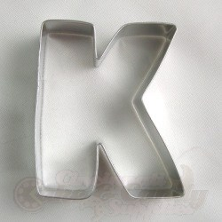 "Letter ""K"" Cookie Cutter_LARGE"