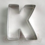"Letter ""K"" Cookie Cutter"