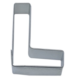"Letter ""L"" Cookie Cutter LARGE"