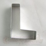 "Letter ""L"" Cookie Cutter"