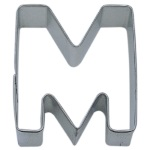 "Letter ""M"" Cookie Cutter THUMBNAIL"