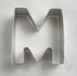 "Letter ""M"" Cookie Cutter"
