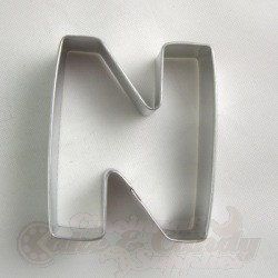 "Letter ""N"" Cookie Cutter_LARGE"