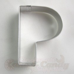 "Letter ""P"" Cookie Cutter_LARGE"