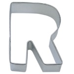 "Letter ""R"" Cookie Cutter THUMBNAIL"