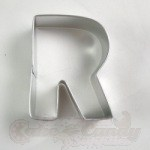 "Letter ""R"" Cookie Cutter"