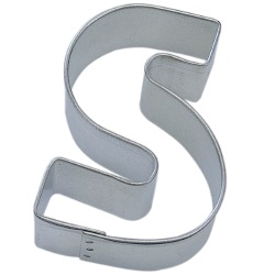 "Letter ""S"" Cookie Cutter LARGE"