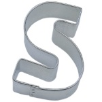 "Letter ""S"" Cookie Cutter THUMBNAIL"
