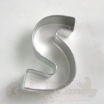 "Letter ""S"" Cookie Cutter"