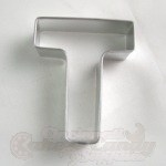 "Letter ""T"" Cookie Cutter"