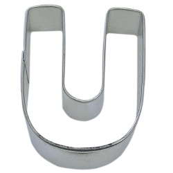 "Letter ""U"" Cookie Cutter LARGE"