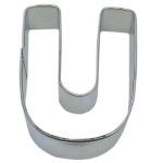 "Letter ""U"" Cookie Cutter THUMBNAIL"