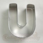 "Letter ""U"" Cookie Cutter"