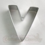 "Letter ""V"" Cookie Cutter"