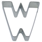 "Letter ""W"" Cookie Cutter THUMBNAIL"