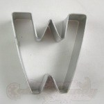 "Letter ""W"" Cookie Cutter"