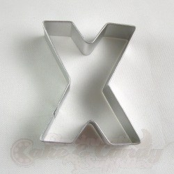 "Letter ""X"" Cookie Cutter"