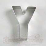 "Letter ""Y"" Cookie Cutter"
