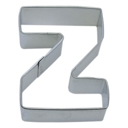 "Letter ""Z"" Cookie Cutter LARGE"