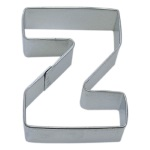 "Letter ""Z"" Cookie Cutter THUMBNAIL"