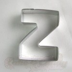 "Letter ""Z"" Cookie Cutter"