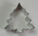 Tree w/Snow Cookie Cutter - Mini