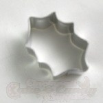 Holly Leaf Cookie Cutter - Mini