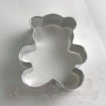 Teddy Bear Cookie Cutter - Mini_THUMBNAIL